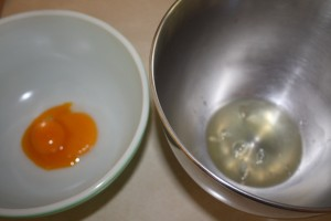 separated eggs