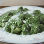 gnocchi in pesto-cream