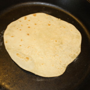 tortilla cooking