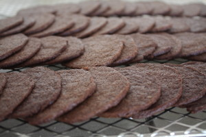 chocolate wafer cookies