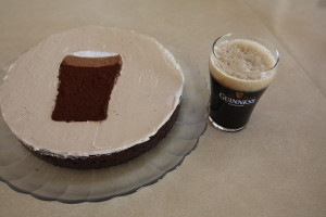 Guinness and Cake