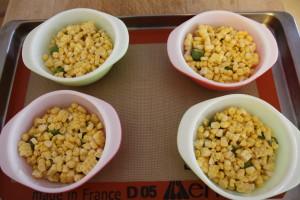layering on corn