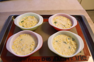 corn and okra puddings
