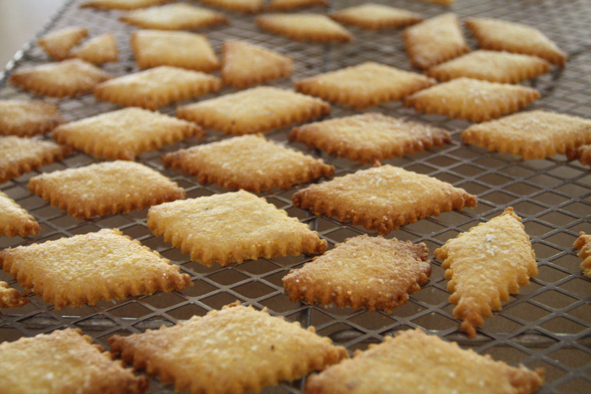 cornbread crackers