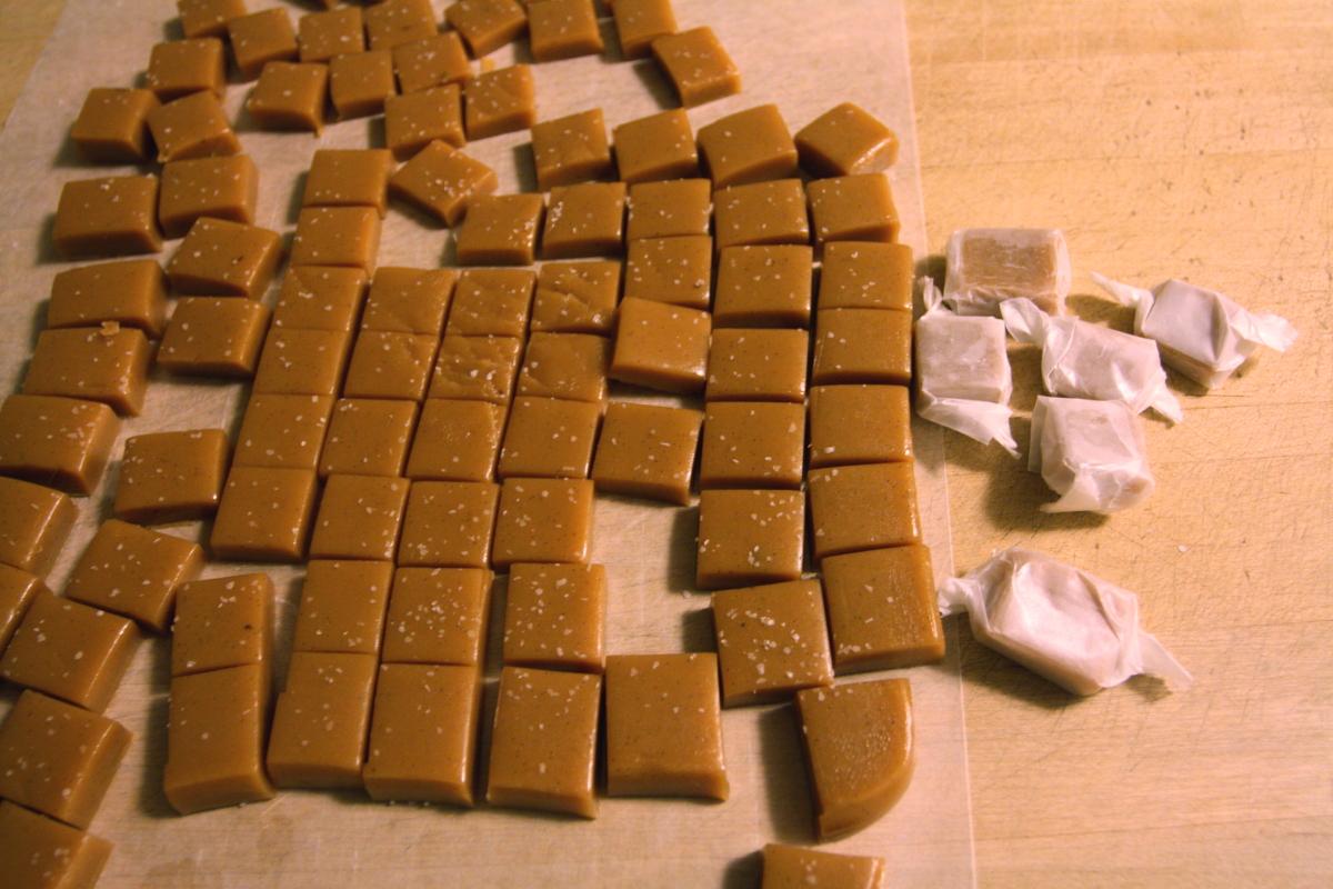 Salted Vanilla Bean Caramels – Scratchin' It