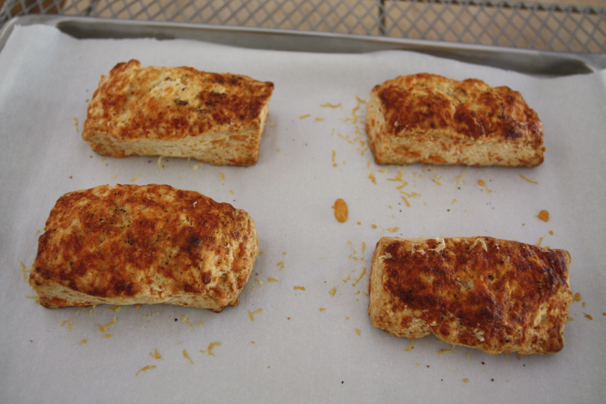 how to make cheese scones from scratch
