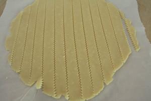 dough strips