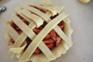 weaving a lattice