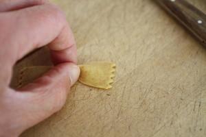 shaping farfalle