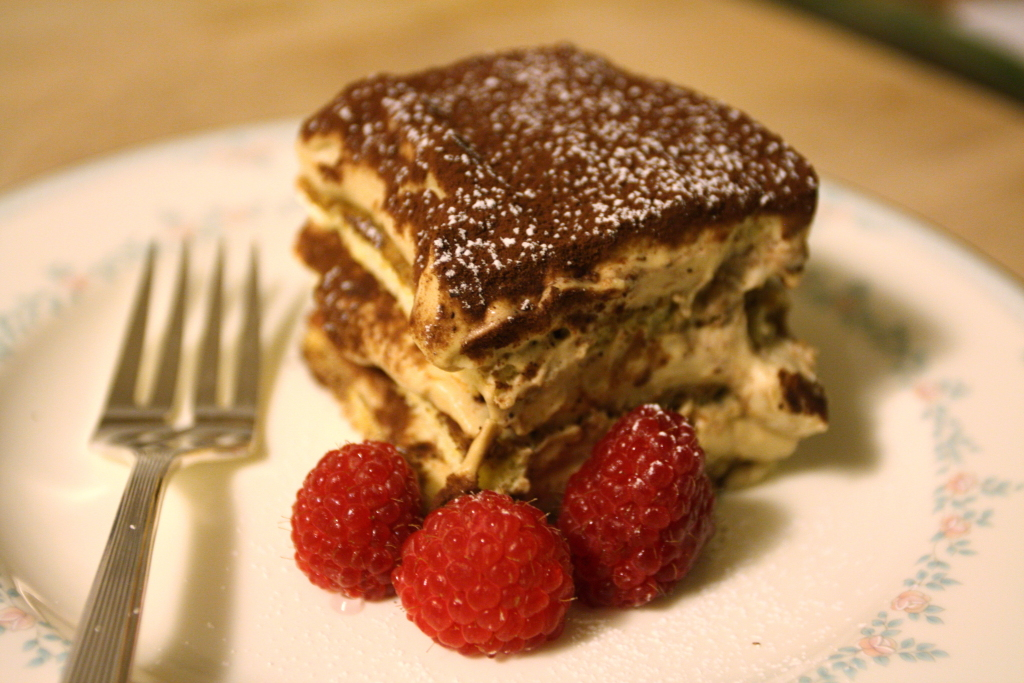 Maple-Kahlua Tiramisu