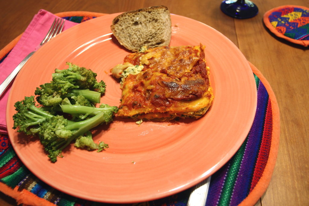 staff lasagna