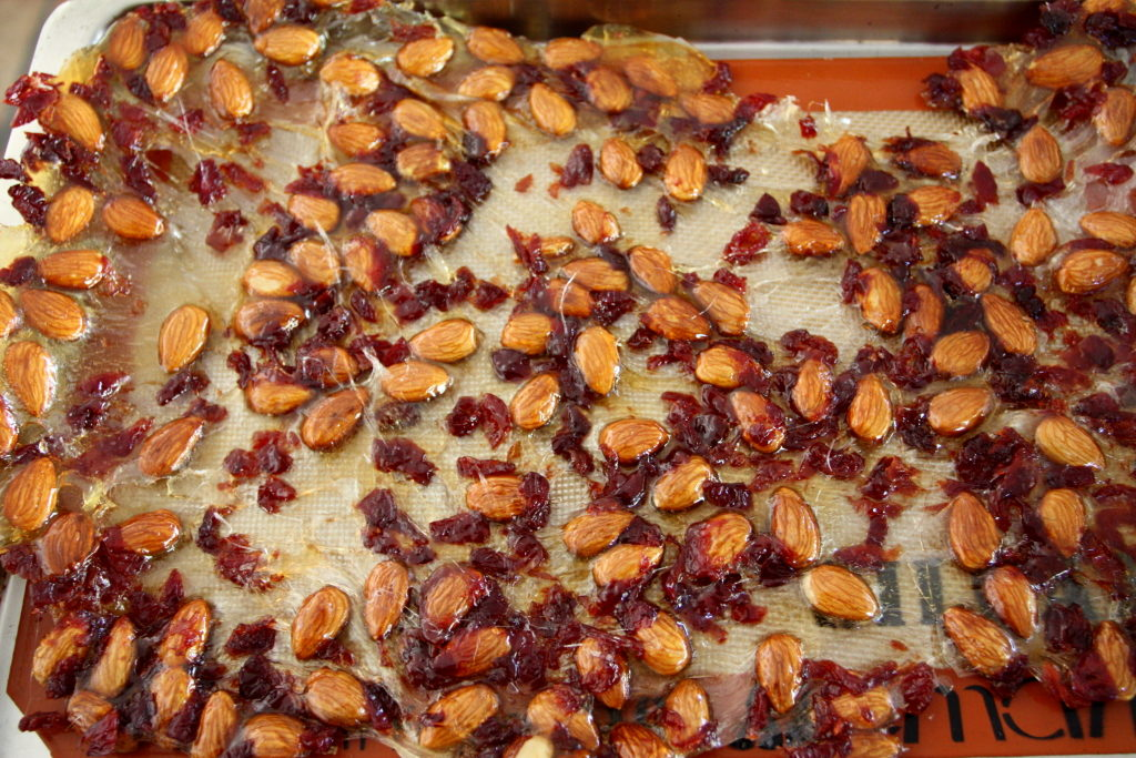 cherry almond brittle