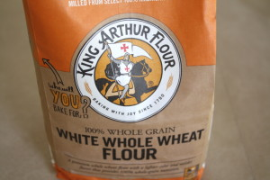 king arthur white whole-wheat flour
