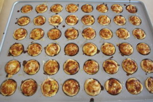 cooling alsace onion tartlets