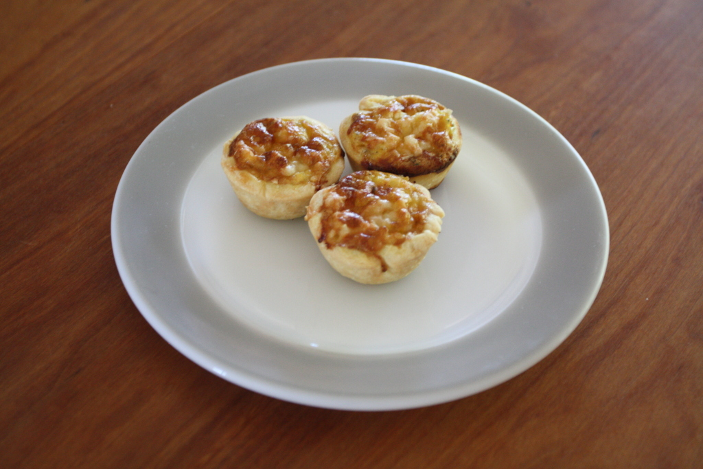 Alsace Onion Tartlets