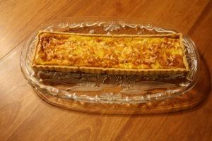 plated tart