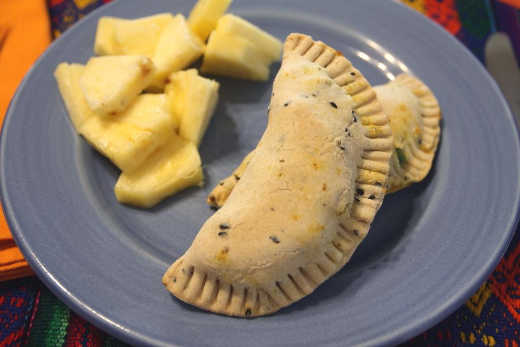 Potato and Pea Somosas