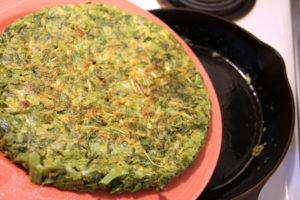 flipping okonomiyaki
