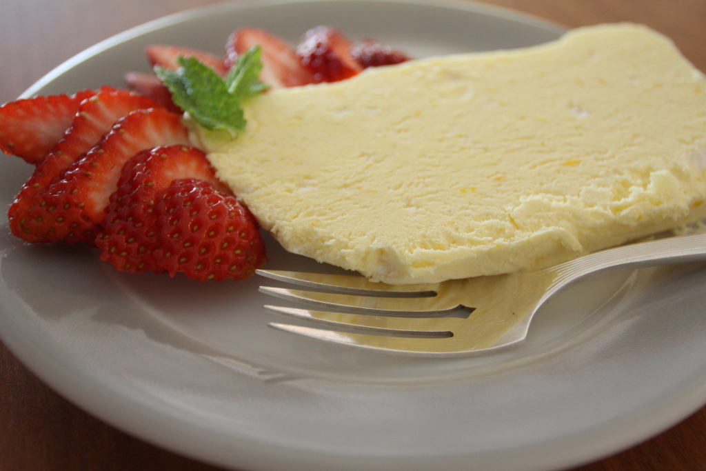 Meyer Lemon Semifreddo