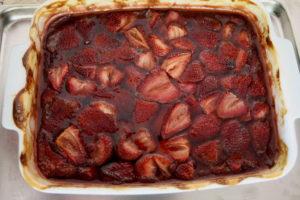 roasted balsamic strawberries