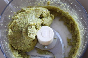 pistachio ameretti dough